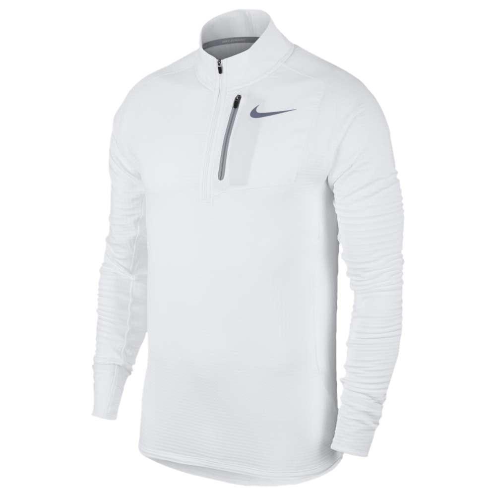 ナイキ メンズ ランニング・ウォーキング トップス【Nike Therma Sphere Element 1/2 Zip】White