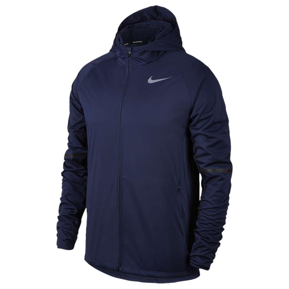 ナイキ メンズ ランニング・ウォーキング アウター【Nike Shield Max Warm Run Jacket】Binary Blue
