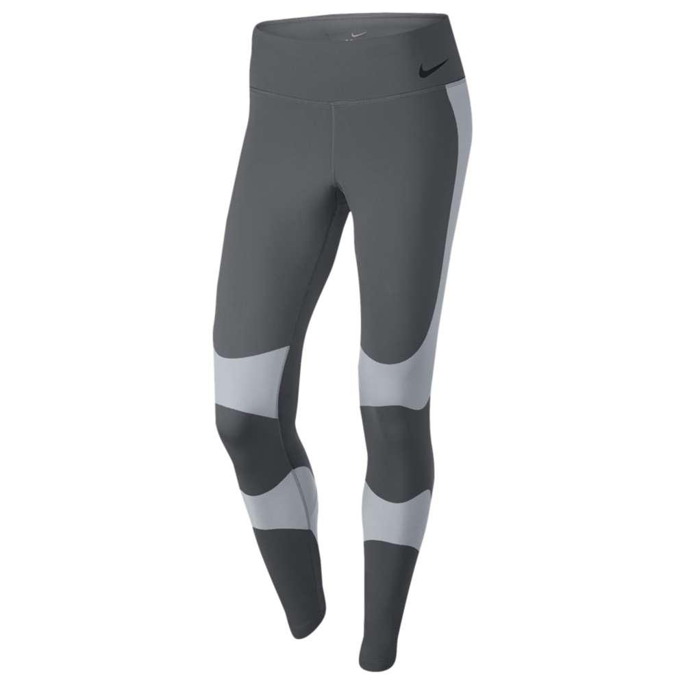 ナイキ レディース フィットネス・トレーニング ボトムス・パンツ【Nike Power Legend Hi-Rise Countour Tights】Dark Grey/Wolf Grey/Black