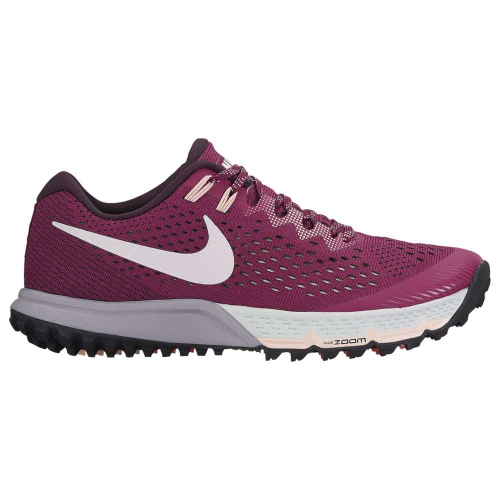 ナイキ レディース ランニング・ウォーキング シューズ・靴【Nike Air Zoom Terra Kiger 4】Tea Berry/Pearl Pink/Port Wine