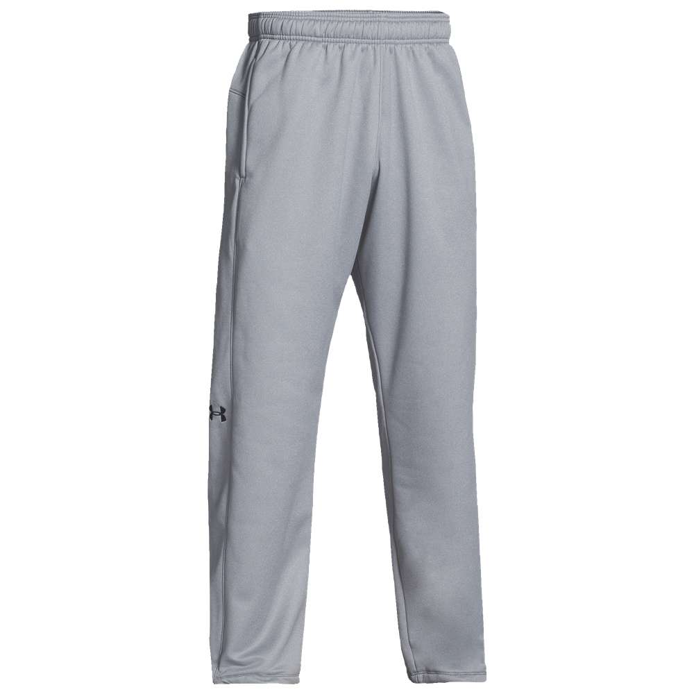 アンダーアーマー メンズ ボトムス・パンツ【Under Armour Team Double Threat Fleece Pants】True Gray Heather/Black