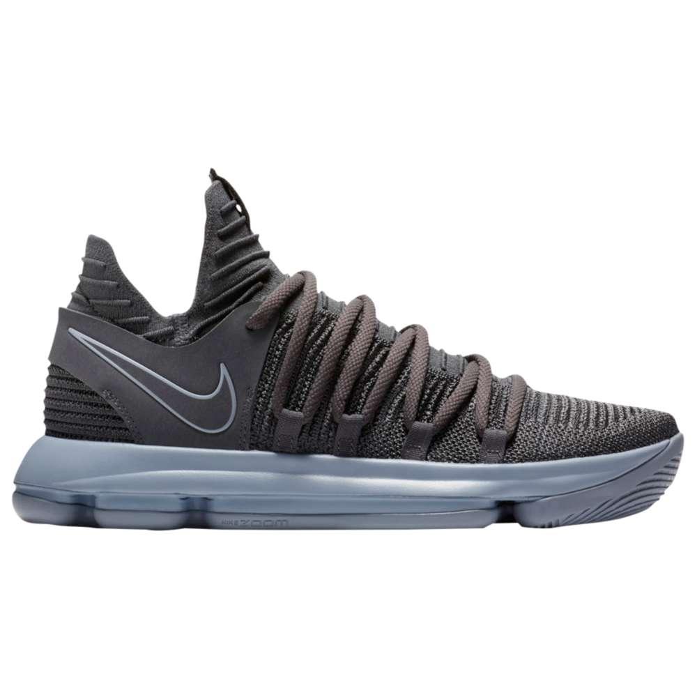 ナイキ メンズ バスケットボール シューズ・靴【Nike KD X】Dark Grey/Reflective Silver