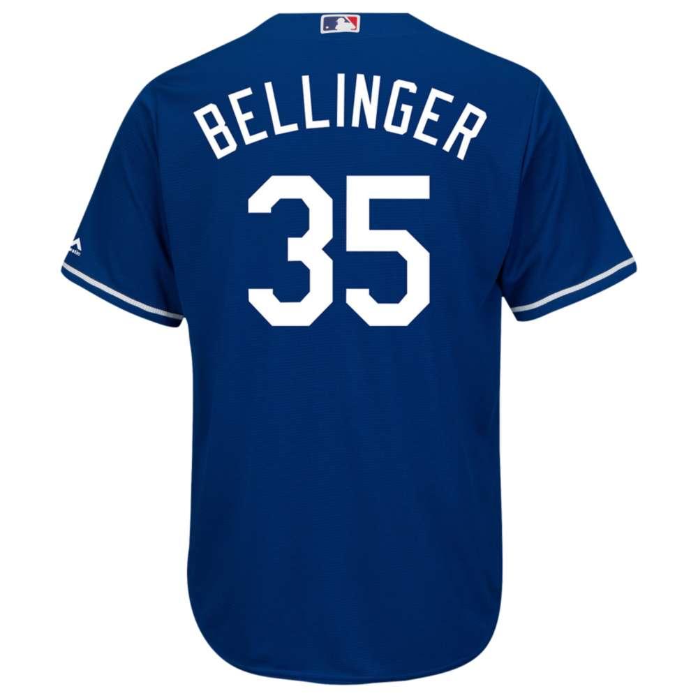 マジェスティック メンズ トップス【Majestic MLB Cool Base Player Jersey】Blue