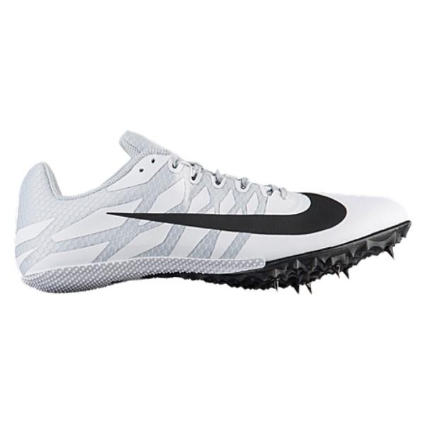 ナイキ メンズ 陸上 シューズ・靴【Nike Zoom Rival S 9】White/Black/Pure Platinum