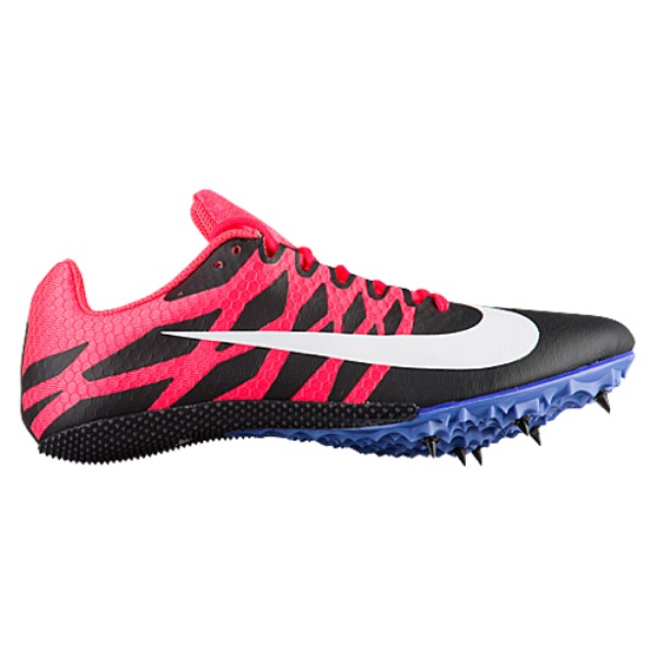ナイキ レディース 陸上 シューズ・靴【Nike Zoom Rival S 9】Black/White/Solar Red/Persian Violet