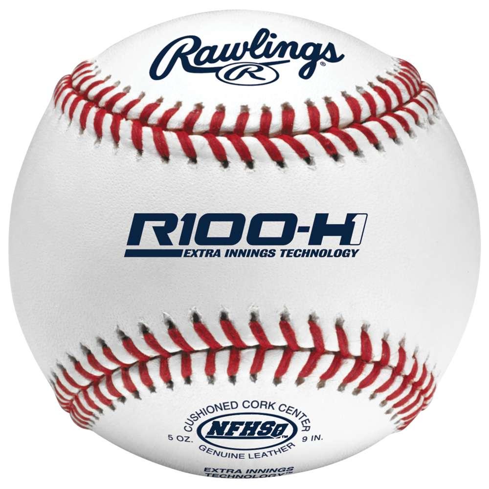 ローリングス メンズ 野球 ボール【Rawlings R100-H1 Elite High School Game Baseball】