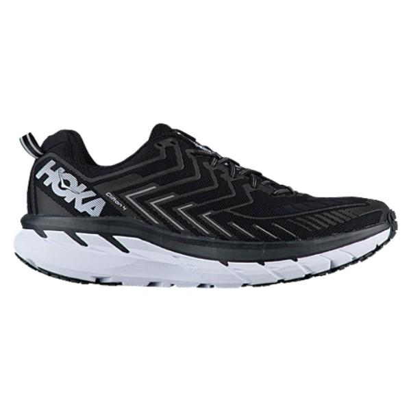 ホカ オネオネ メンズ ランニング・ウォーキング シューズ・靴【HOKA ONE ONE Clifton 4】Black/White