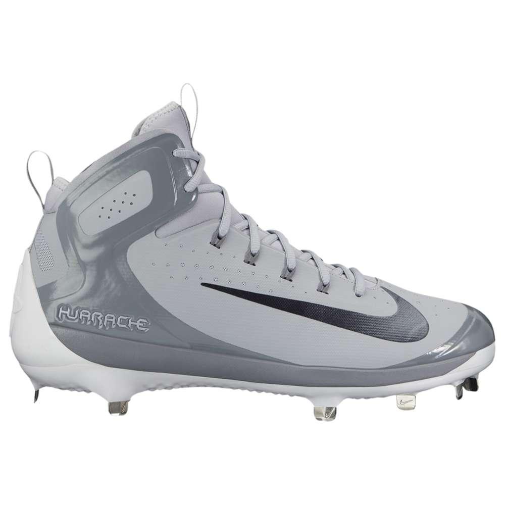 ナイキ メンズ 野球 シューズ・靴【Nike Alpha Huarache Elite】Wolf Grey/Metallic Hematite/Cool Grey