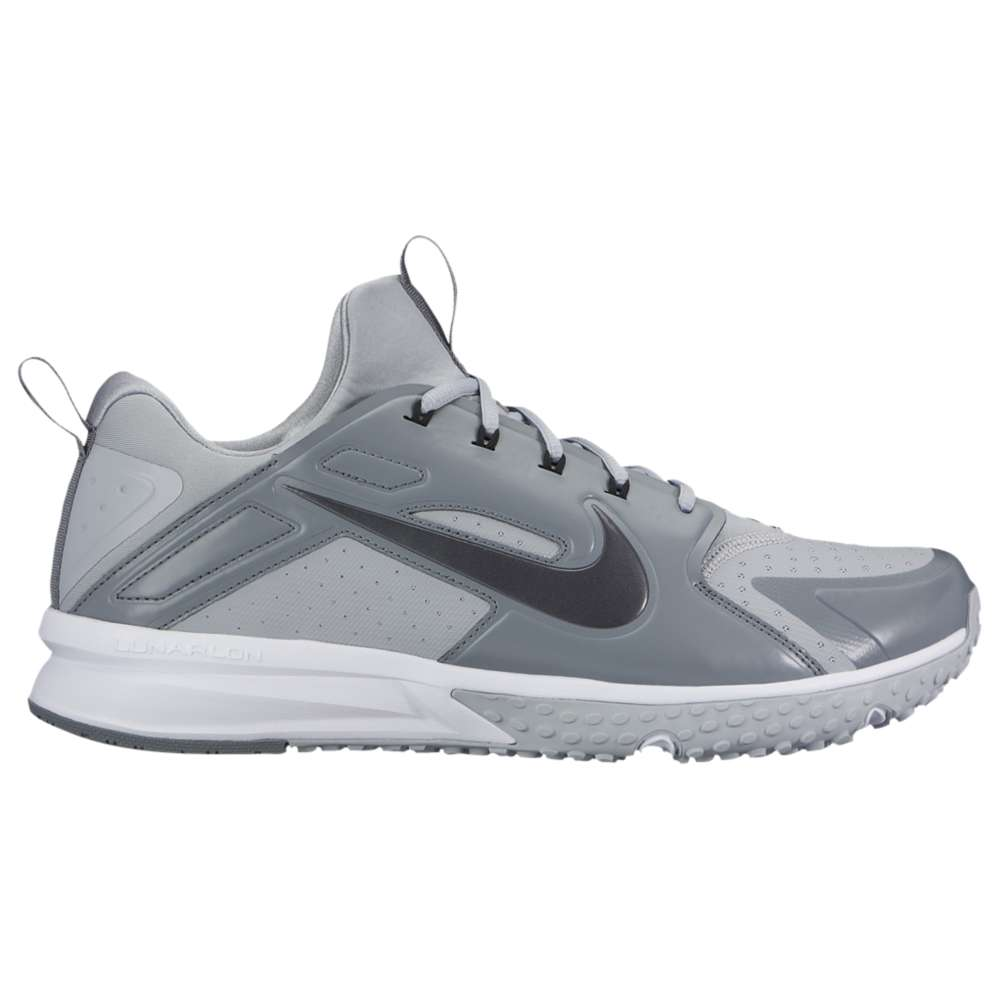 ナイキ メンズ 野球 シューズ・靴【Nike Alpha Huarache Turf】Wolf Grey/Metallic Hematite/Cool Grey