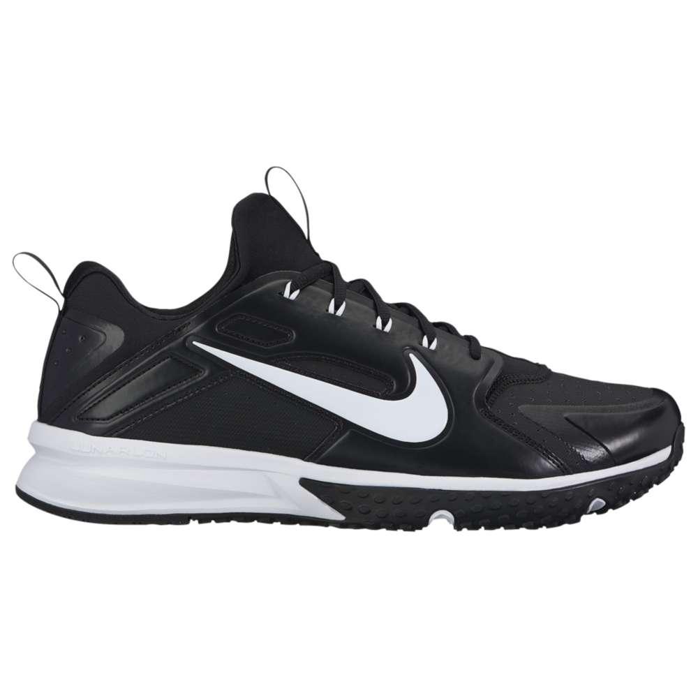 ナイキ メンズ 野球 シューズ・靴【Nike Alpha Huarache Turf】Black/White/Black