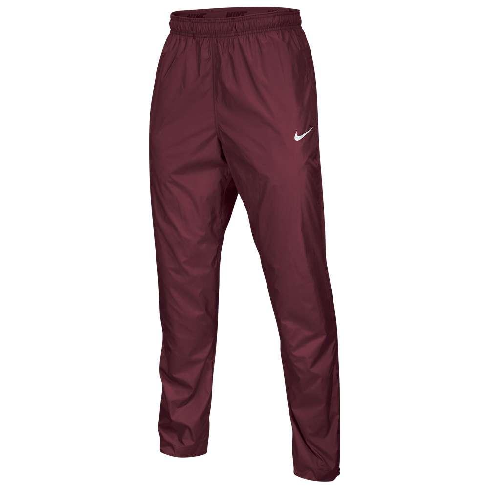 ナイキ メンズ フィットネス・トレーニング ボトムス・パンツ【Nike Team FB Woven Pants】Team Maroon/White