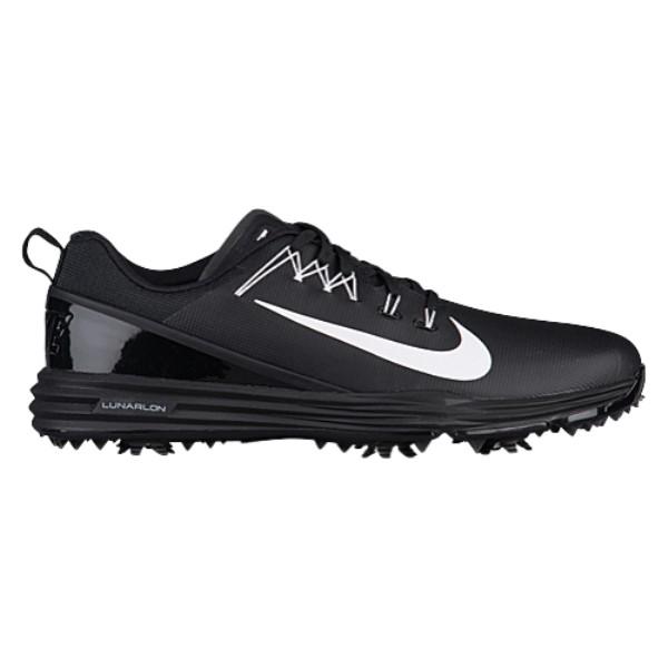ナイキ メンズ ゴルフ シューズ・靴【Nike Lunar Command Golf Shoes】Black/White/Black