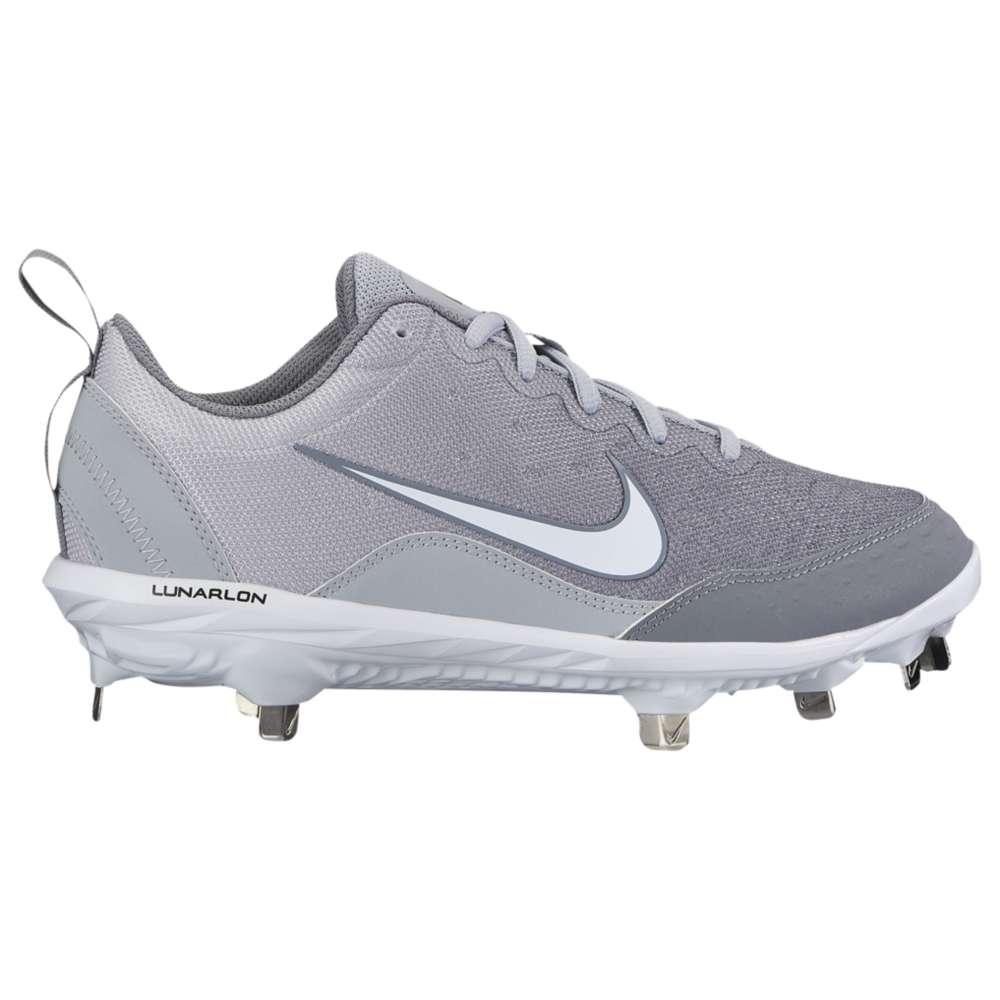 ナイキ レディース 野球 シューズ・靴【Nike Hyperdiamond 2 Pro】Wolf Grey/White/Cool Grey