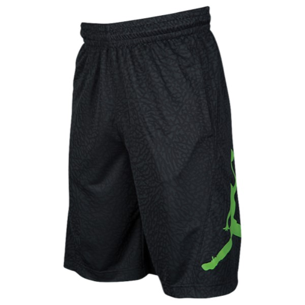 ナイキ ジョーダン メンズ バスケットボール ボトムス・パンツ【Jordan Rise Vertical Shorts】Black/Black/Altitude Green