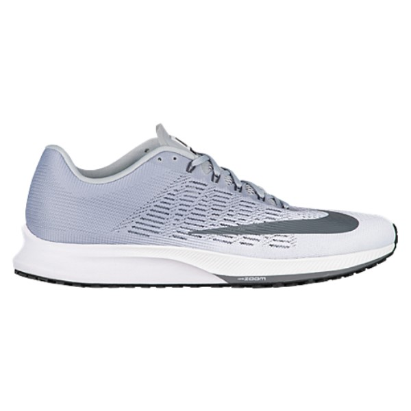ナイキ メンズ ランニング・ウォーキング シューズ・靴【Nike Zoom Elite 9】White/Dark Grey Wolf/Anthracite