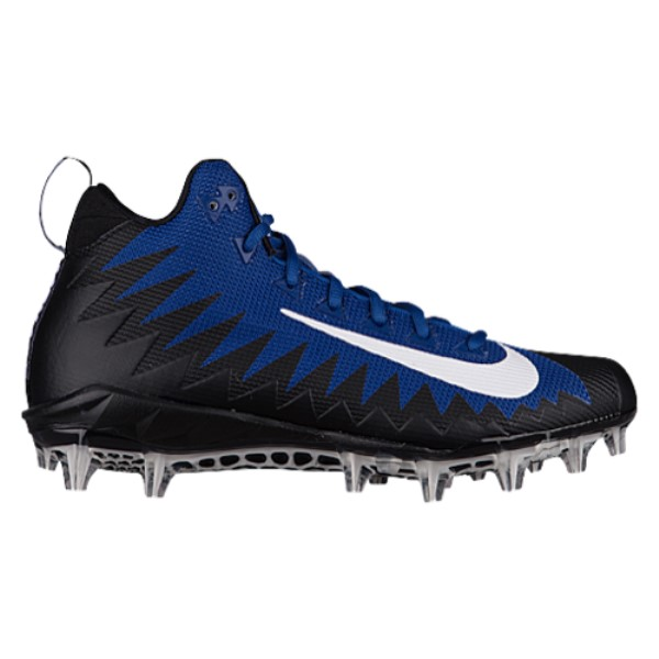 ナイキ メンズ アメリカンフットボール シューズ・靴【Nike Alpha Menace Pro Mid】Rush Blue/White/Black