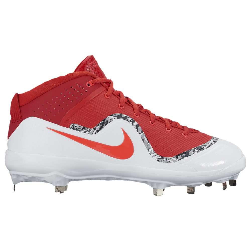ナイキ メンズ 野球 シューズ・靴【Nike Air Trout 4 Pro】University Red/University Red/White/Crimson