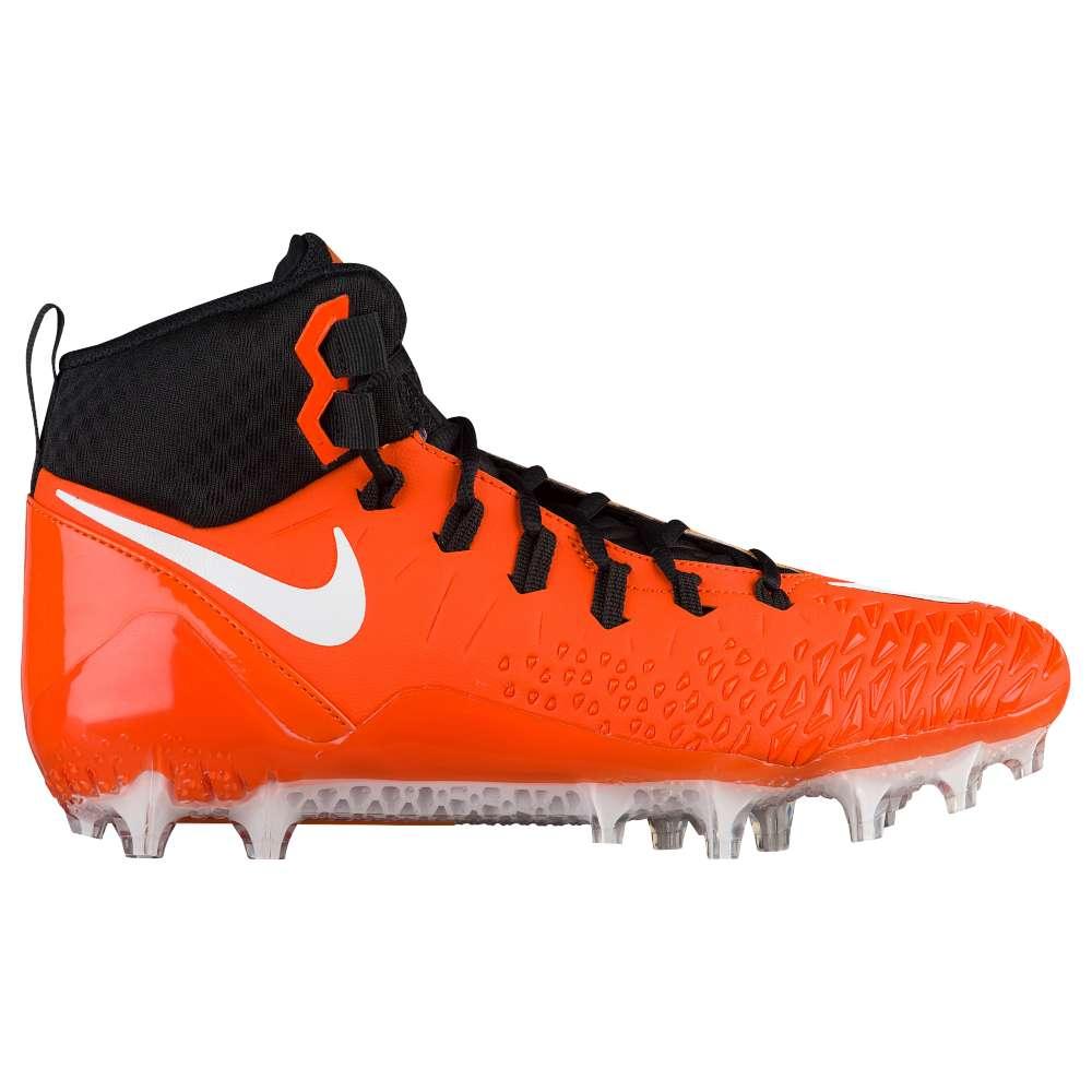 ナイキ メンズ アメリカンフットボール シューズ・靴【Nike Force Savage Pro】Brilliant Orange/White/Black