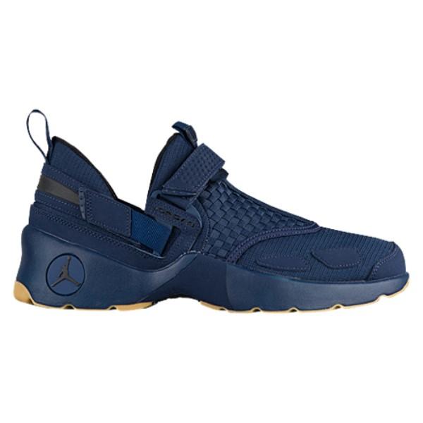 ナイキ ジョーダン メンズ フィットネス・トレーニング シューズ・靴【Jordan Trunner LX】Midnight Navy/Black/Gum Yellow