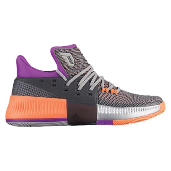 アディダス メンズ バスケットボール シューズ・靴【adidas Dame 3】Medium Grey/Silver