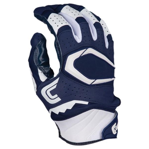 カッターズ メンズ アメリカンフットボール グローブ【Cutters Rev Pro 2.0 Receiver Gloves】Navy