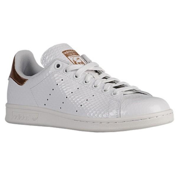 アディダス レディース シューズ・靴 スニーカー【adidas Originals Stan Smith】White/White/Copper Metallic