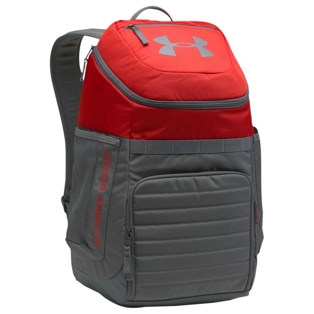 アンダーアーマー ユニセックス バッグ バックパック・リュック【Undeniable Backpack 3.0】Red/Graphite/Graphite