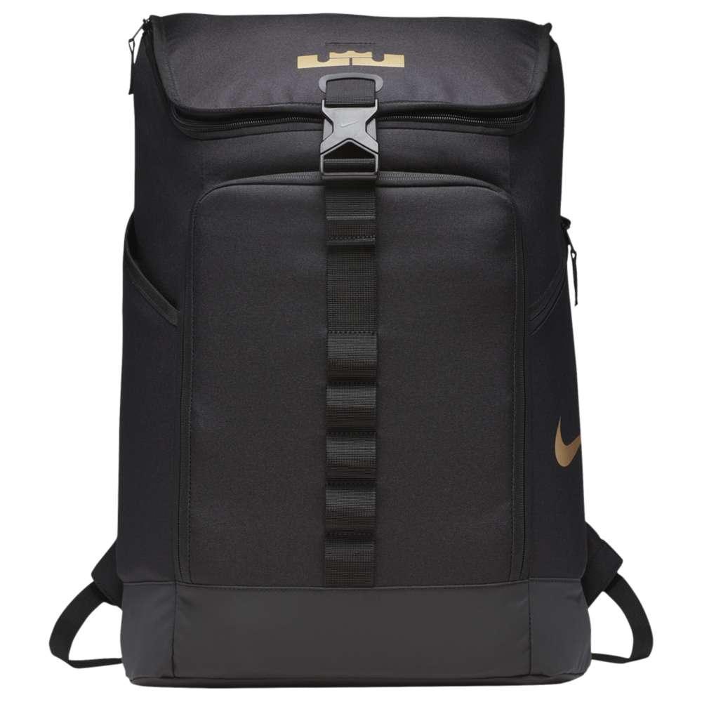 ナイキ ユニセックス バッグ バックパック・リュック【LeBron Max Air Ambassador Backpack】Black/Metallic Gold