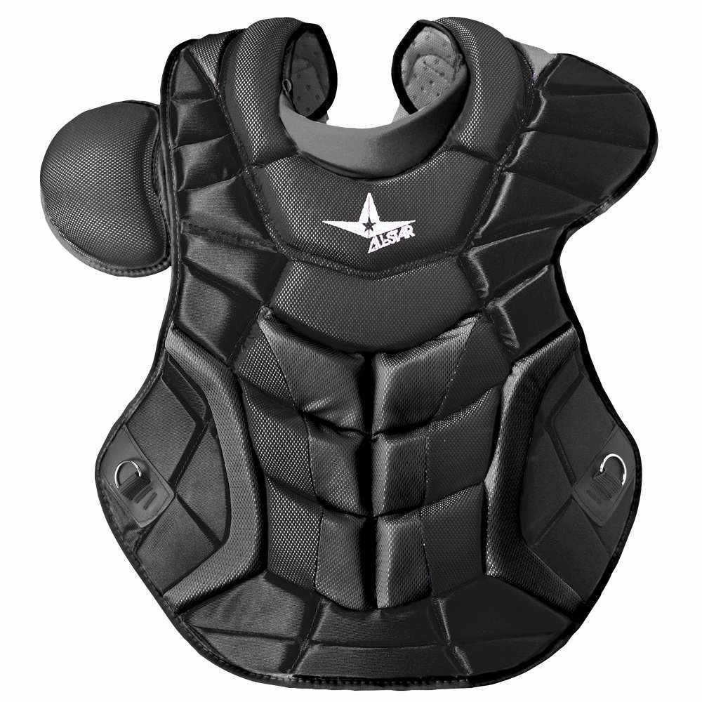 オールスター メンズ 野球 プロテクター【System 7 Ultra Cool Chest Protector】Black