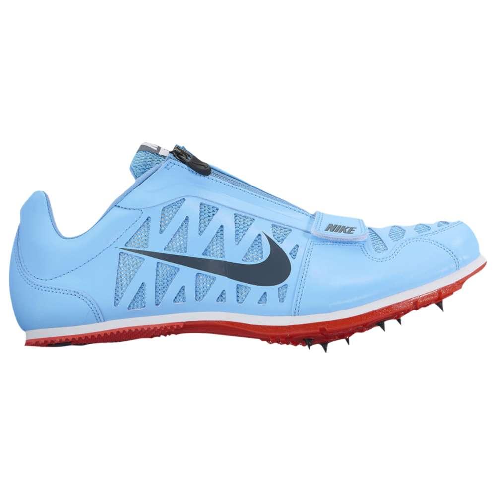 ナイキ メンズ 陸上 シューズ・靴【Zoom LJ 4】Football Blue/Blue Fox/Bright Crimson