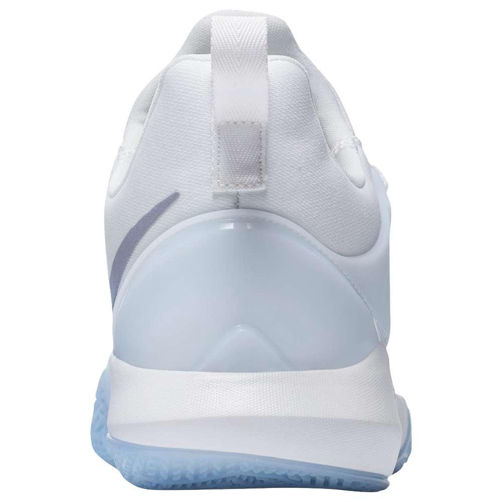 ナイキ レディース バスケットボール シューズ・靴【Zoom Shift】White/Metallic Silver/Wolf Grey