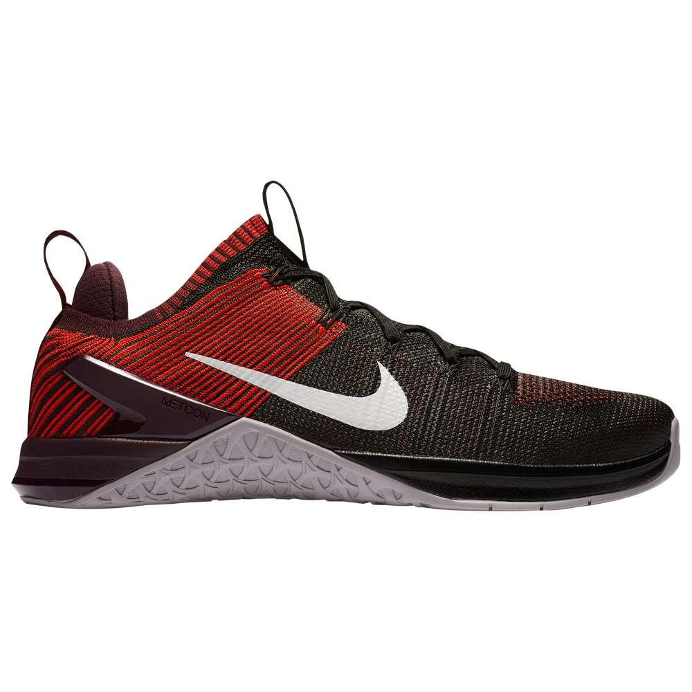 ナイキ メンズ フィットネス・トレーニング シューズ・靴【Metcon DSX Flyknit 2】Black/Vast Grey/Chili Red