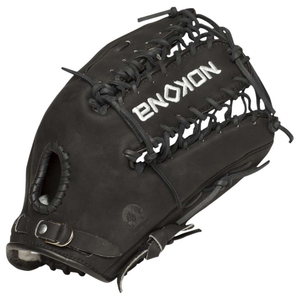 ノコナ メンズ 野球 グローブ【Supersoft Fielding Glove】Black