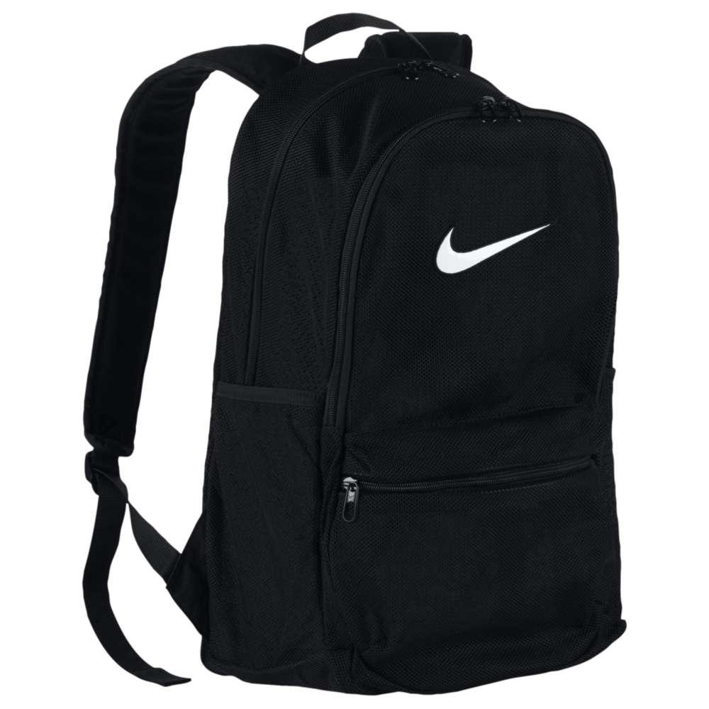 ナイキ ユニセックス バッグ バックパック・リュック【Brazilia Mesh Backpack】Black/Black/White