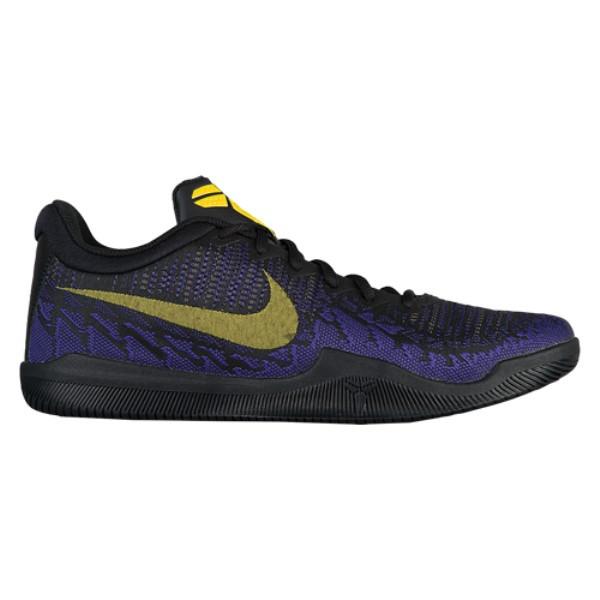 ナイキ メンズ バスケットボール シューズ・靴【Mamba Rage】Black/Tour Yellow/Court Purple