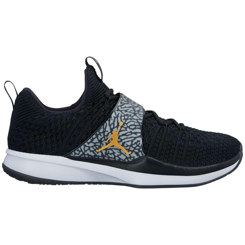 ナイキ ジョーダン メンズ フィットネス・トレーニング シューズ・靴【Trainer 2 Flyknit】Black/Metallic Gold/White