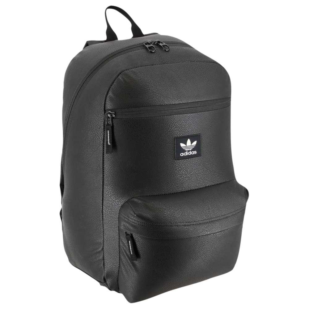 アディダス ユニセックス バッグ バックパック・リュック【National PU Leather Backpack】Black