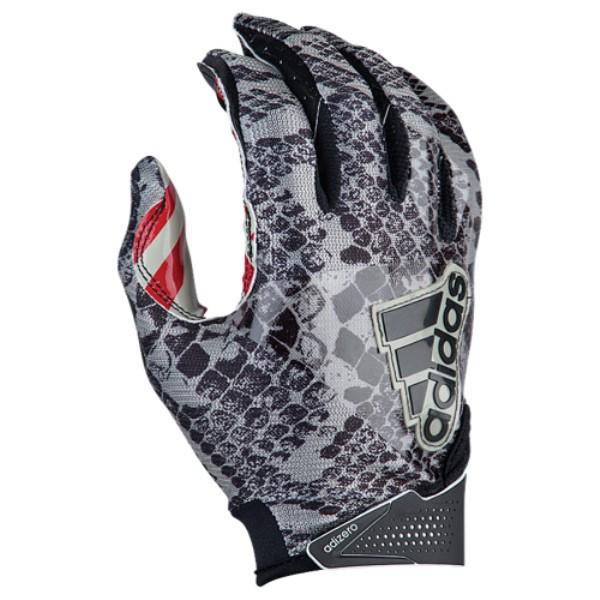 アディダス メンズ アメリカンフットボール グローブ【5-Star 6.0 Receiver Gloves】Texas