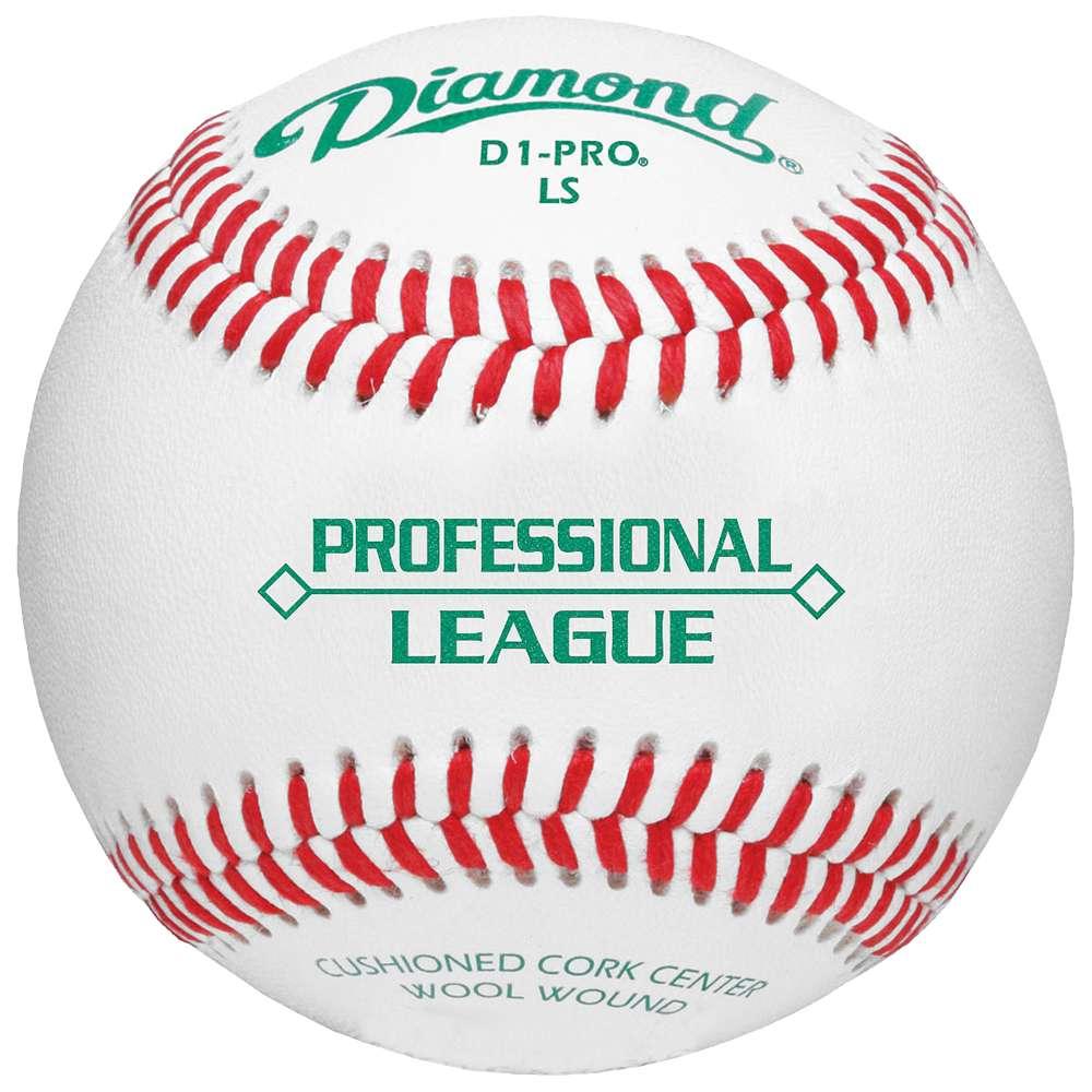 ダイアモンド ユニセックス 野球 ボール【D1 Pro Low Seam NCAA Baseball】White/Red