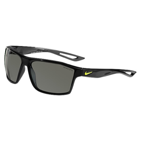 ナイキ ユニセックス スポーツサングラス【Legend Sunglasses】Black/Volt/Grey/Silver Flash Lens