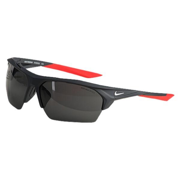 ナイキ ユニセックス スポーツサングラス【Terminus Sunglasses】Matte Anthracite/White/Grey Dark Lens