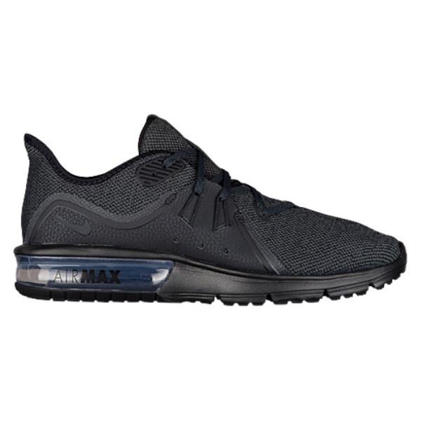 ナイキ メンズ ランニング・ウォーキング シューズ・靴【Air Max Sequent 3】Black/Anthracite
