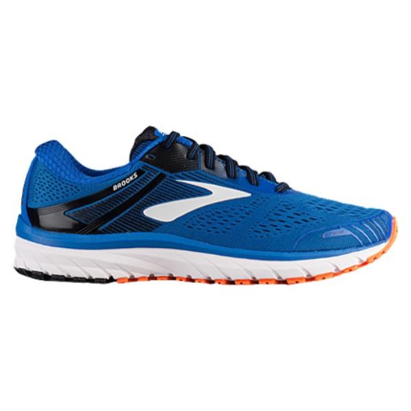 ブルックス メンズ ランニング・ウォーキング シューズ・靴【Adrenaline GTS 18】Blue/Black/Orange