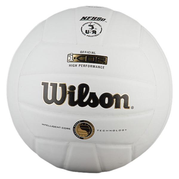 ウィルソン ユニセックス バレーボール ボール【Team I-COR Game Volleyball】White
