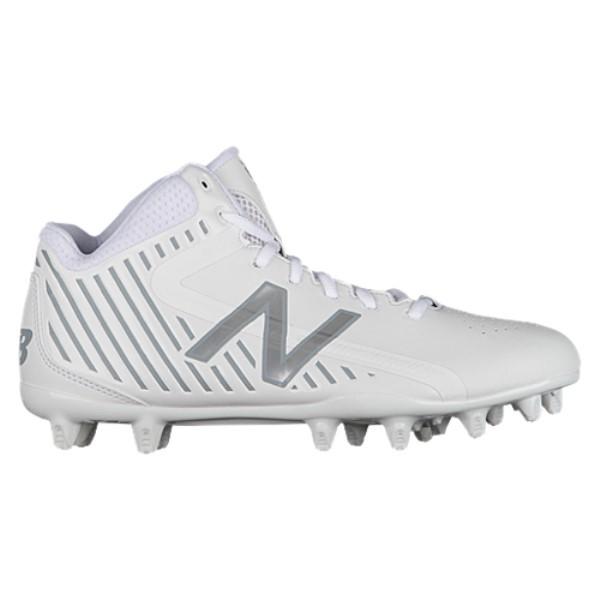 ニューバランス メンズ ラクロス シューズ・靴【Rush MID】White