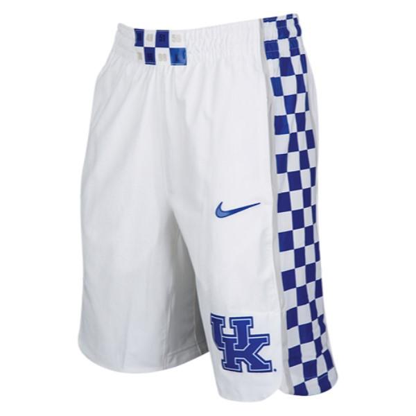 ナイキ メンズ バスケットボール ボトムス・パンツ【College Authentic On Court Shorts】White