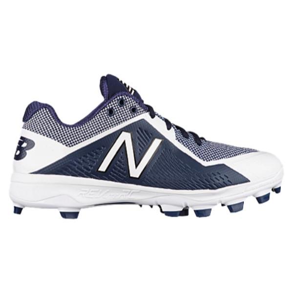ニューバランス メンズ 野球 シューズ・靴【4040v4 TPU Low】Navy/White