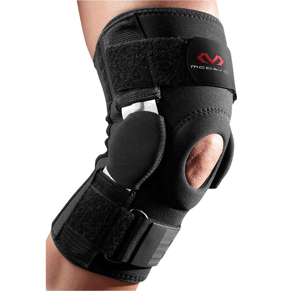マクダビッド ユニセックス フィットネス・トレーニング サポーター【Dual Disc Hinged Knee Support】Black