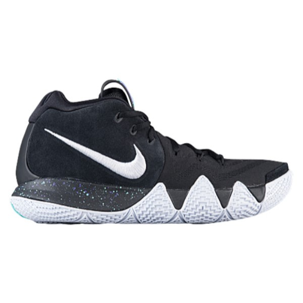 ナイキ メンズ バスケットボール シューズ・靴【Kyrie 4】Black/White/Anthracite/Light Racer Blue