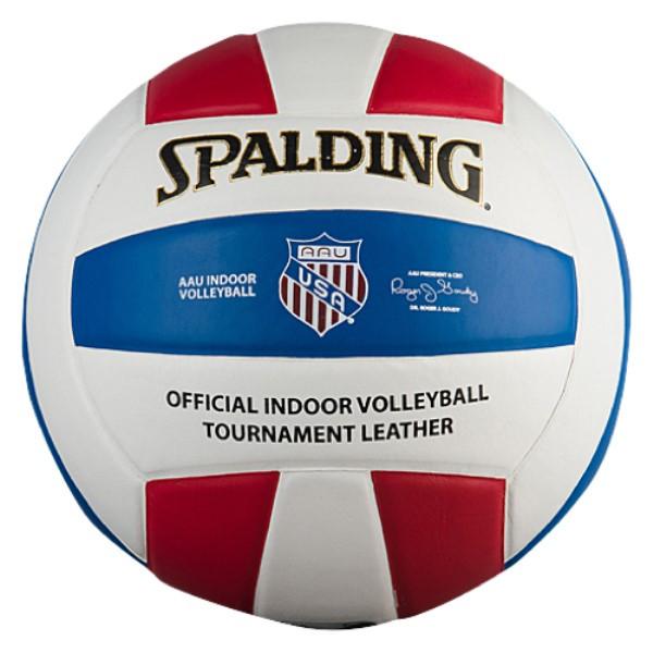 スポルディング ユニセックス バレーボール ボール【AAU Indoor TF-VB5 Leather Volleyball】